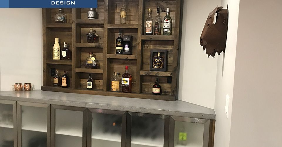 Bar and Rum Wall Design